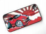 Koolart Classic Drift Design For JDM StyleNissan 300ZX  Hard Case Cover Fits Apple iPhone 4 & 4s